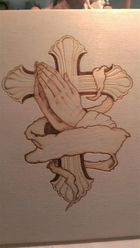 praying hands wood burning and hands on on pinterest