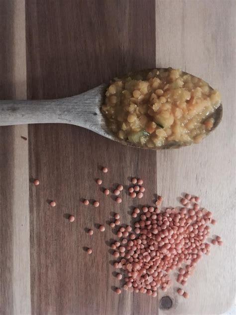 alimentazione oncologica zuppa di lenticchie rosse decorticate martina toschi