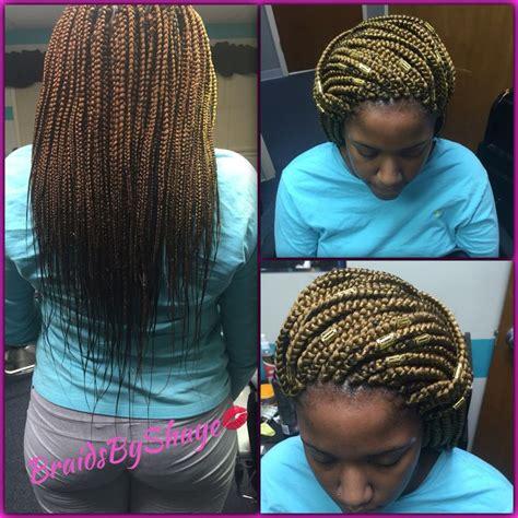 cornrows with box braids in the back medium mid back length box braids braidsbyshaye