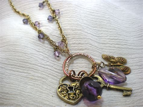 how to make a wire necklace with wire wrapped necklace tutorial