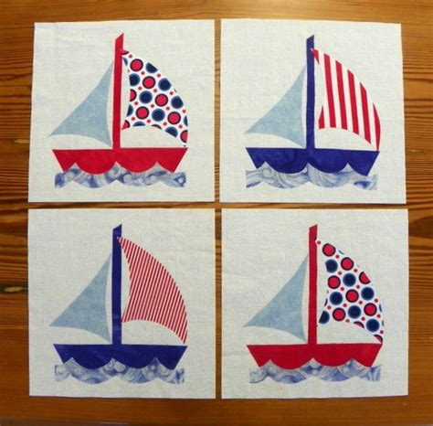 Boat Quilt Block Pattern by
