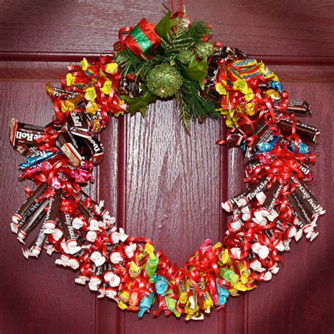 Christmas Candy Centerpieces - cyber monday sale candy wreath edible holiday by jusprintables