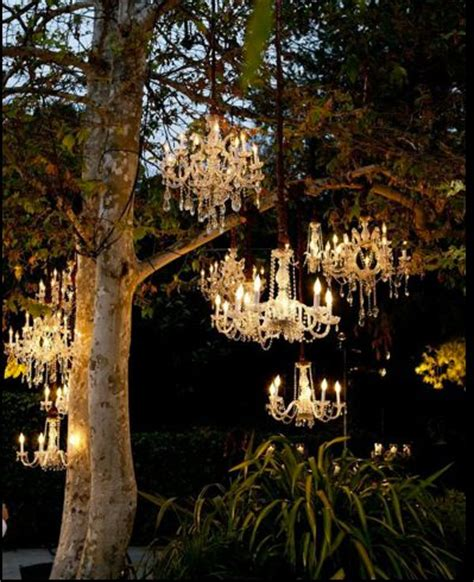 Chandeliers In Trees 25 Best Ideas About Outdoor Chandelier On Chandelier Solar Lights And