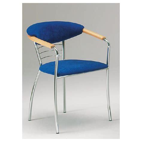 stuhl chrom stuhl mit metallgestell chrom optik h 80 cm armlehne