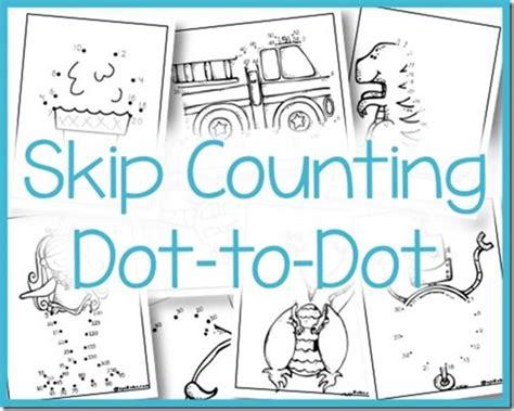 free printable dot to dot skip counting skip counting dot to dot royal baloo