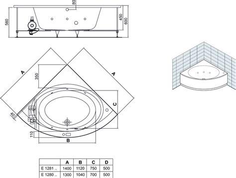 vasca angolare ideal standard dettagli prodotto e1281 vasca idromassaggio