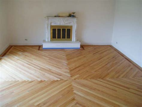 Diagonal Multi Directional Flooring