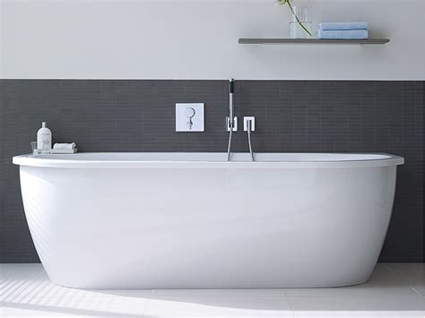 duravit new back to wall bathtub 1900x900mm white