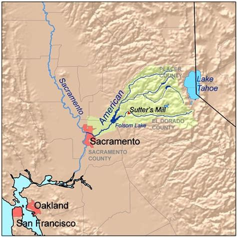 san francisco river map american river whitewater rafting a local s tips for a
