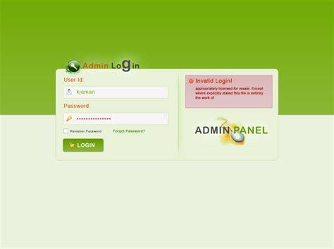 login panel template free admin panel login theme by kjaman on deviantart