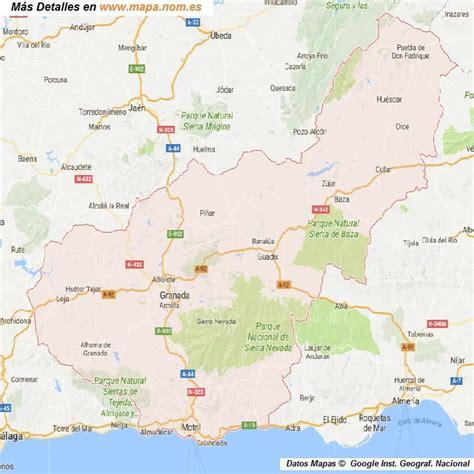 mapa de carreteras de asturias tama 241 o provincias de espa a mapa de carreteras callejeros mapa de granada provincia y pueblos 75