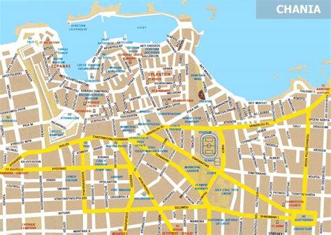 large chania maps     print high