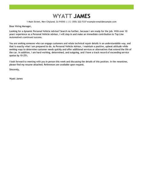Parts Advisor Cover Letter by Parts Advisor Cover Letter Resignation Letter For Better Opportunity