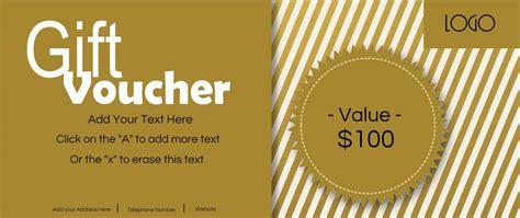 gift card voucher template gift vouchers