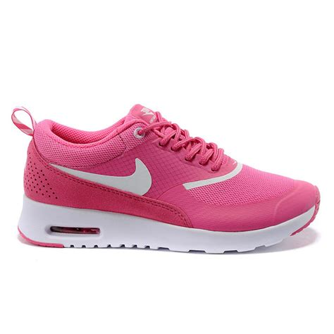 sale new pink and white nike air max thea print womens