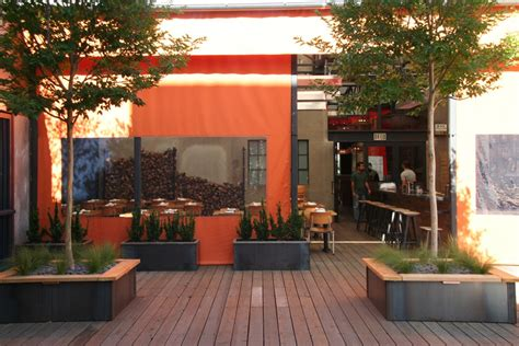 Comal Restaurant Garden Architecture Landscape Design & Construction Berkeley, CA