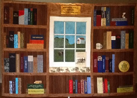 Library Quilt by Larkspur Designs The Of The Whitehall