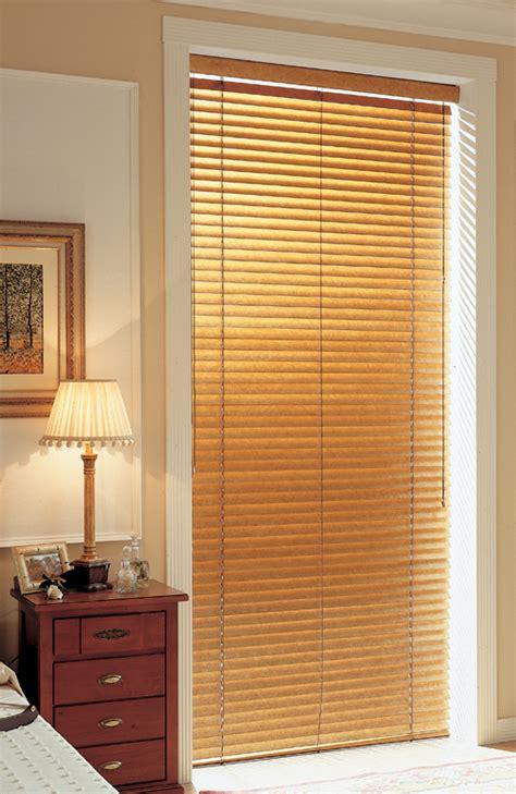 Wooden Patio Door Blinds Wood Blinds Faux Wood Blinds Nh Blindsnh Blinds