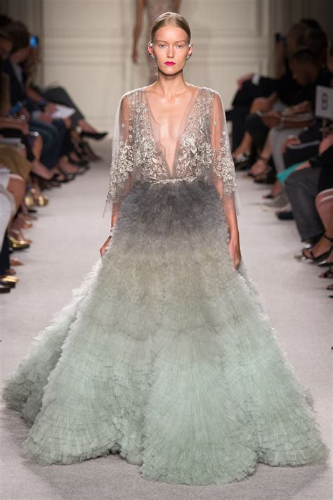 Catwalk To Carpet Nicky In Marchesa by Ora In Pleated Ballgown As She Steps Out For