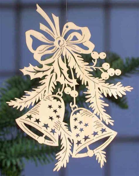 Fensterbilder Weihnachten Aus Holz by Deko Fensterbild 2 Glocken Handgefertigt Aus Sperrholz