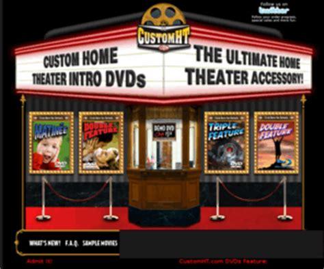 customhtcom customhtcom home theater intro dvds home
