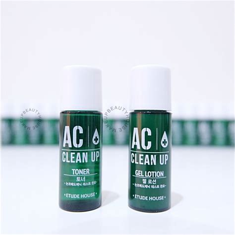 Etude House Ac Clean Up Gel Lotion 5ml Sle Ac Clean Up Toner Gel Lotion Makeup House