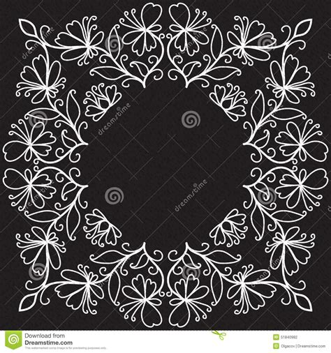 doodle swirl pattern vector doodle pattern of spirals swirls and stock vector