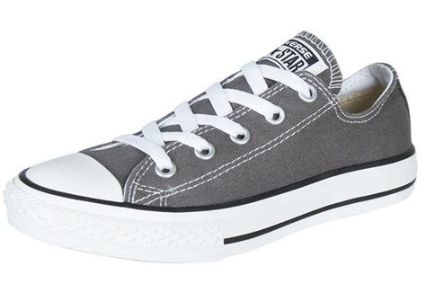 Hdt Shoes Converse All Low Grey Box boys youth converse 3j794 gray chuck all