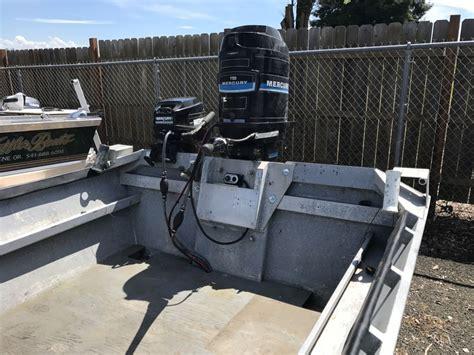 alumaweld drift boat seats 1980 used 18 x 60 quot alumaweld jet sled koffler boats