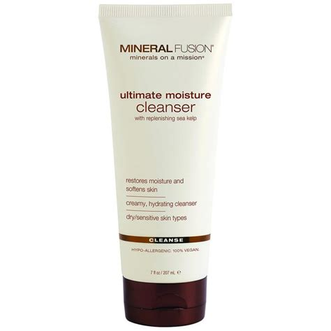 Ultimate Gold Detox Drink Ingredients by Ultimate Moisture Cleanser Mineral Fusion