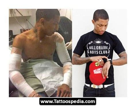 pharrell tattoo removal before after pharrell removal before and after www pixshark