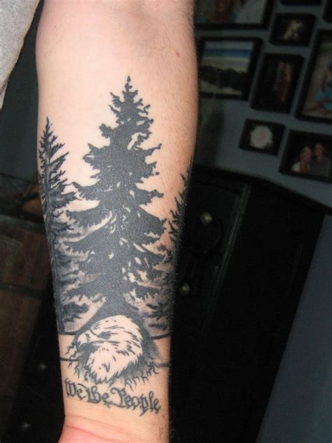 forest tattoo designs pin pin forest sleeve sitting on on