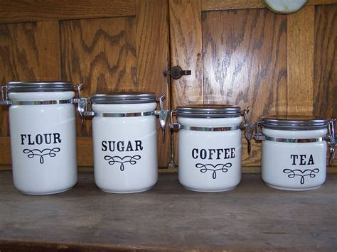 glass canisters for kitchen counter search results