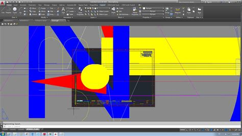 autocad add view layout problem units when i insert a layout from template