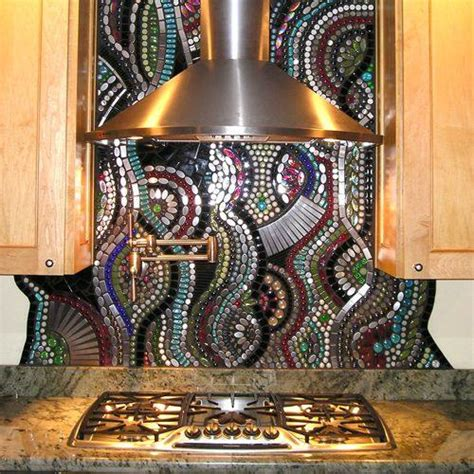 Kitchen Mosaic by Unique On Toilets Mosaics And Lobbies