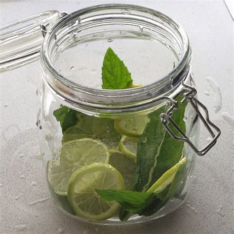 Green Tea Mint Lime Detox Water by Infused Warm Water Green Tea Lime And Mint Flow In Nature