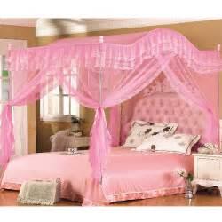 Bedroom Corner Canopy H L Mosquito Net Bed Canopy Bedroom 4 Corner 3 Door