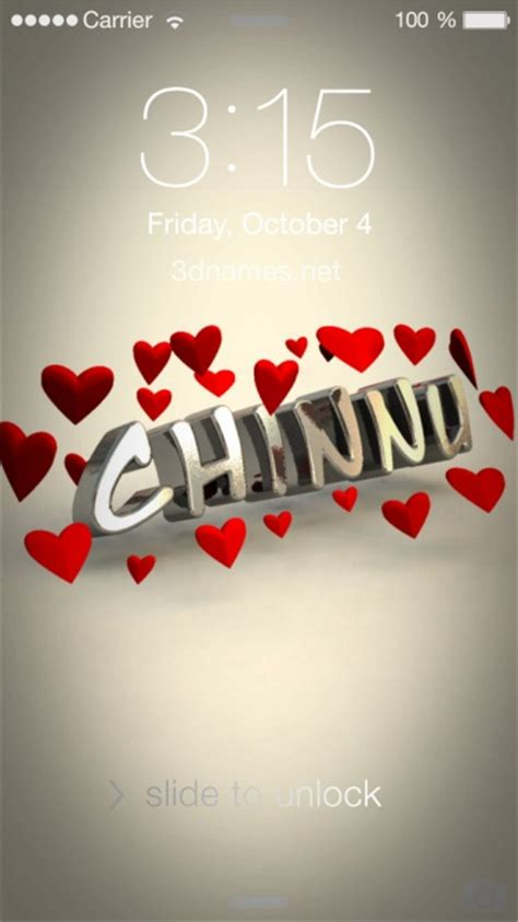 preview of in love for name chinnu