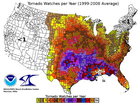 usa tornado map the best place to live in the united states here are 9