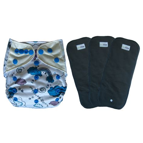 Diaper Giveaway - weekly giveaway cloth diaper cover and 3 charcoal bamboo inserts ecoable