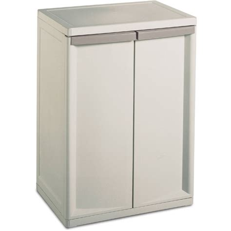 plastic garage cabinets walmart fantastic sterilite 2 shelf storage cabinet walmart