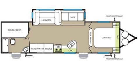 30 foot travel trailer floor plans luv 2 c rv rentals trailer rentals delivered to