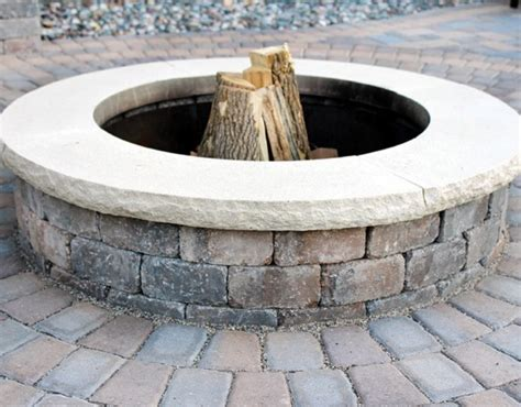 Outdoor Pit Ring Kits by Borgert Products Outdoor Living Product Gallery Borgert