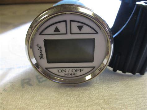 digital depth gauge for boats ds0110a faria marine boat digital depth finder gauge 2