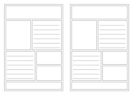 leaflet templates by isotope824 teaching resources tes