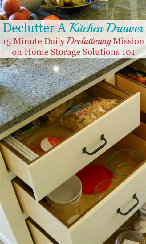 home storage solutions 101 how to declutter kitchen drawers