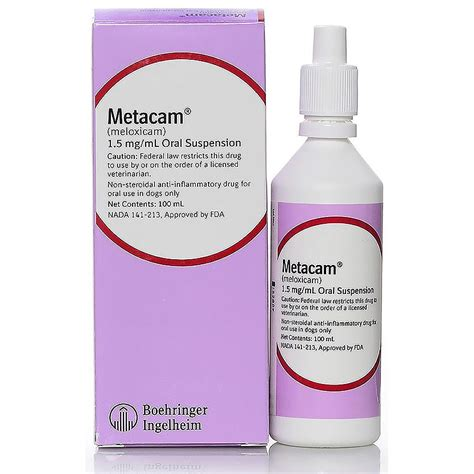 metacam for dogs metacam 1 5 mg ml for dogs 100ml