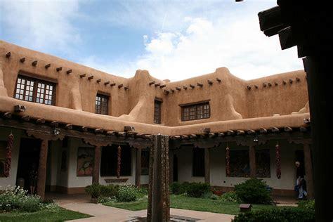 santa fe architecture american style santa fe the pueblo revival