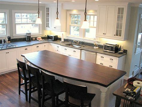 kitchen island countertop overhang portable kitchen