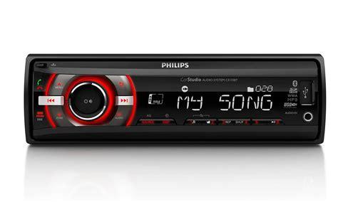 format audio poste voiture syst 232 me audio pour voiture ce135bt 12 philips